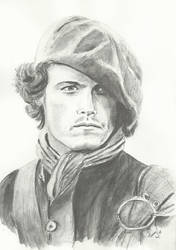 Jamie Fraser by Powerfulwoodelf