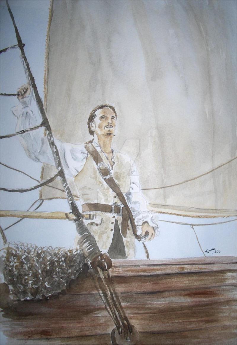 Captain Turner by Powerfulwoodelf