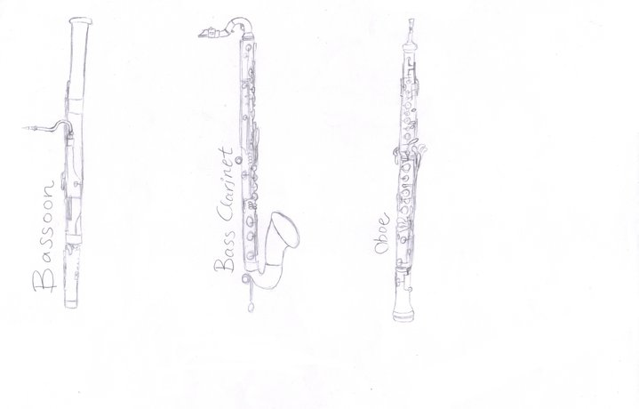 Bassoon Bass Clarinet And Oboe By Pehlx94
