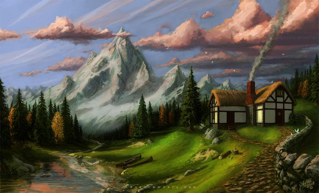 Mountain House By Wildweasel339 On Deviantart