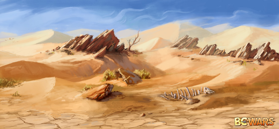 Desert by Wildweasel339