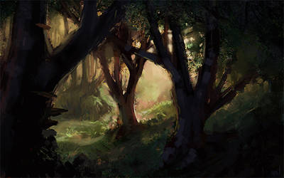 Forest Light by Wildweasel339