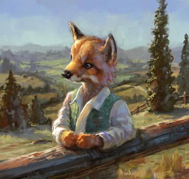 Fox Guy by Wildweasel339