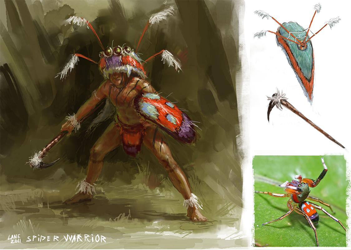 Spider Warrior Concept by Wildweasel339