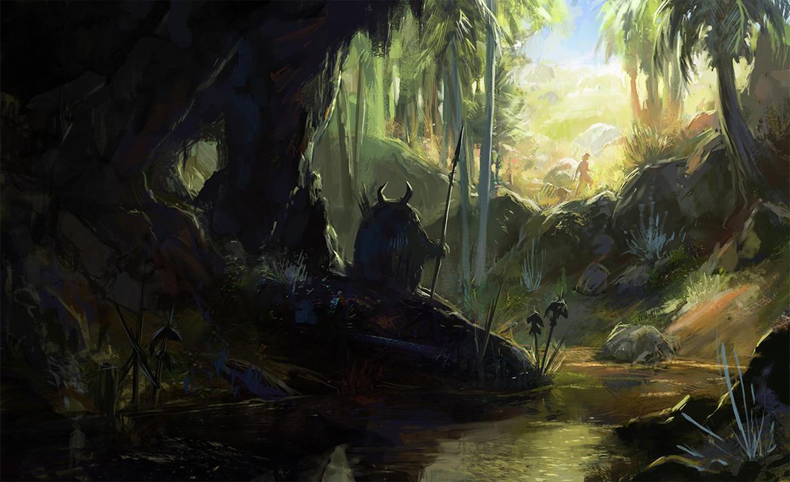 Shadow of the Brook by Wildweasel339