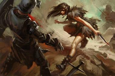 The Dancing Dagger by Wildweasel339