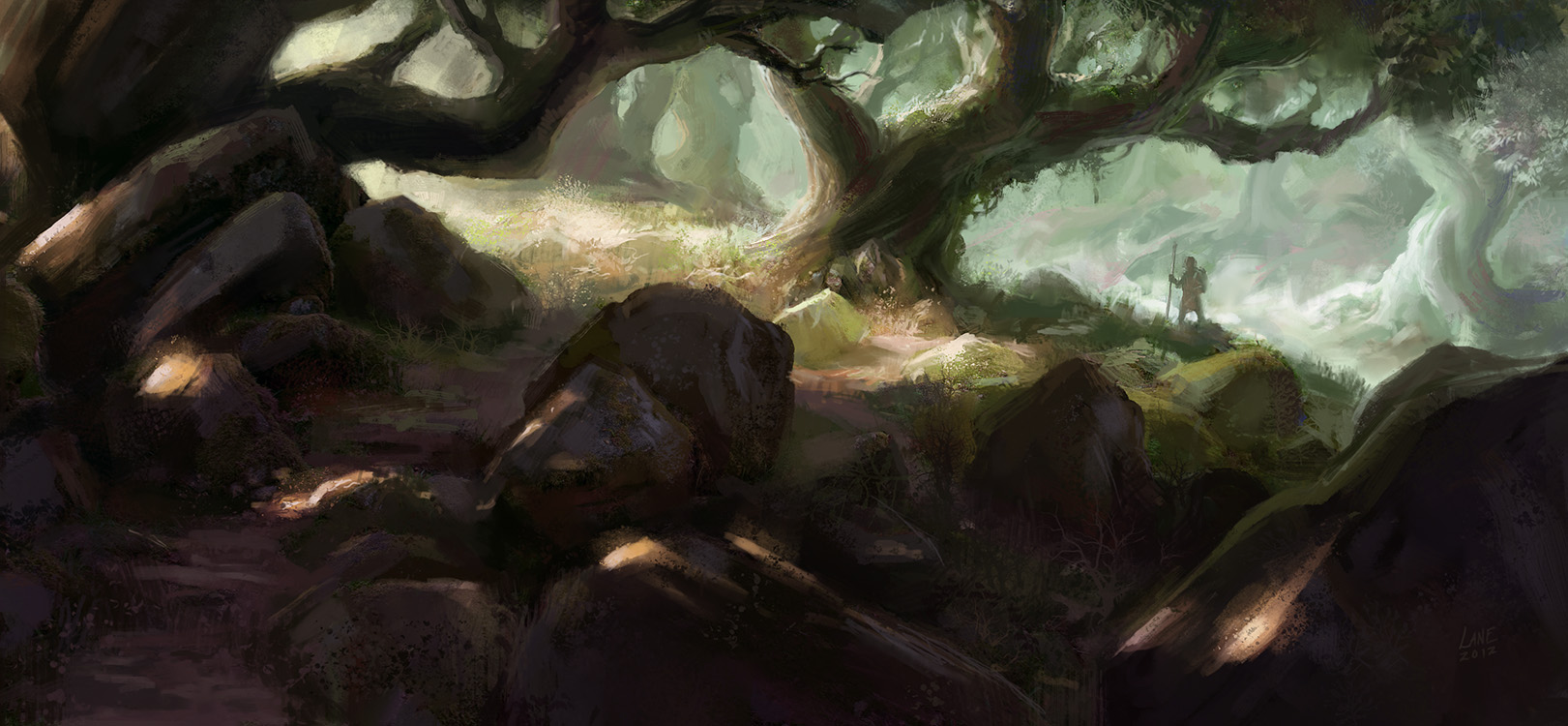 Forest Trek by Wildweasel339