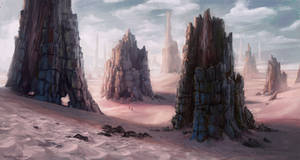 Monolith Desert