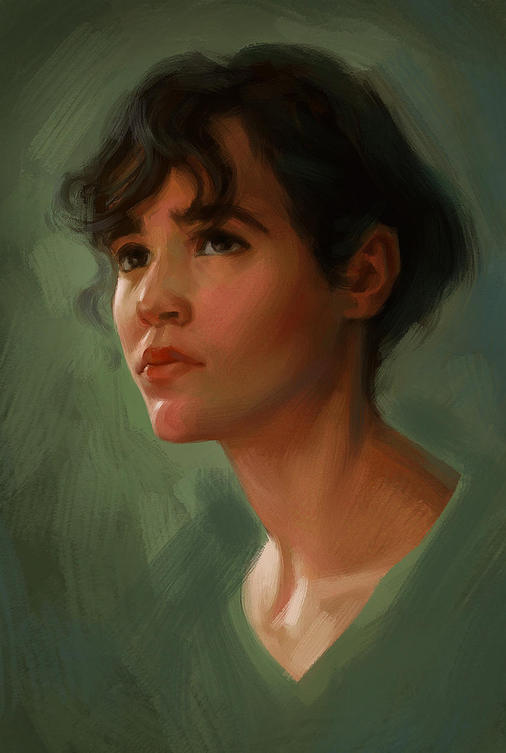 Portrait Study by Wildweasel339