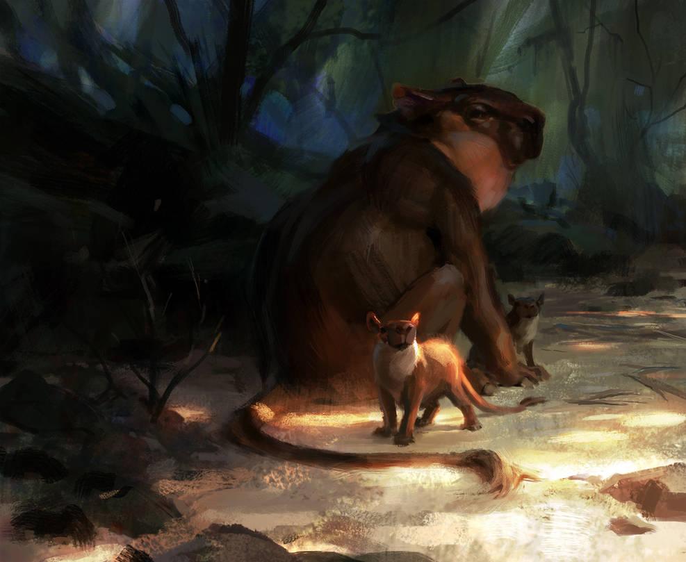 Caybara by Wildweasel339
