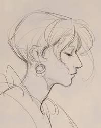 Portrait Sketch by Wildweasel339