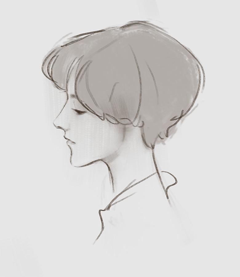 Portrait Sketch 2 by Wildweasel339