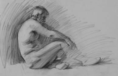 Figure Drawing _ Mike