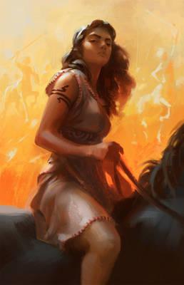 Hippodamia - Tamer of Horses