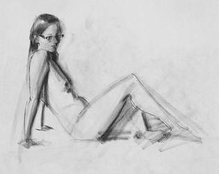 Figure Drawing ` by Wildweasel339