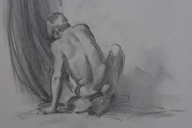 Figure Drawing } by Wildweasel339