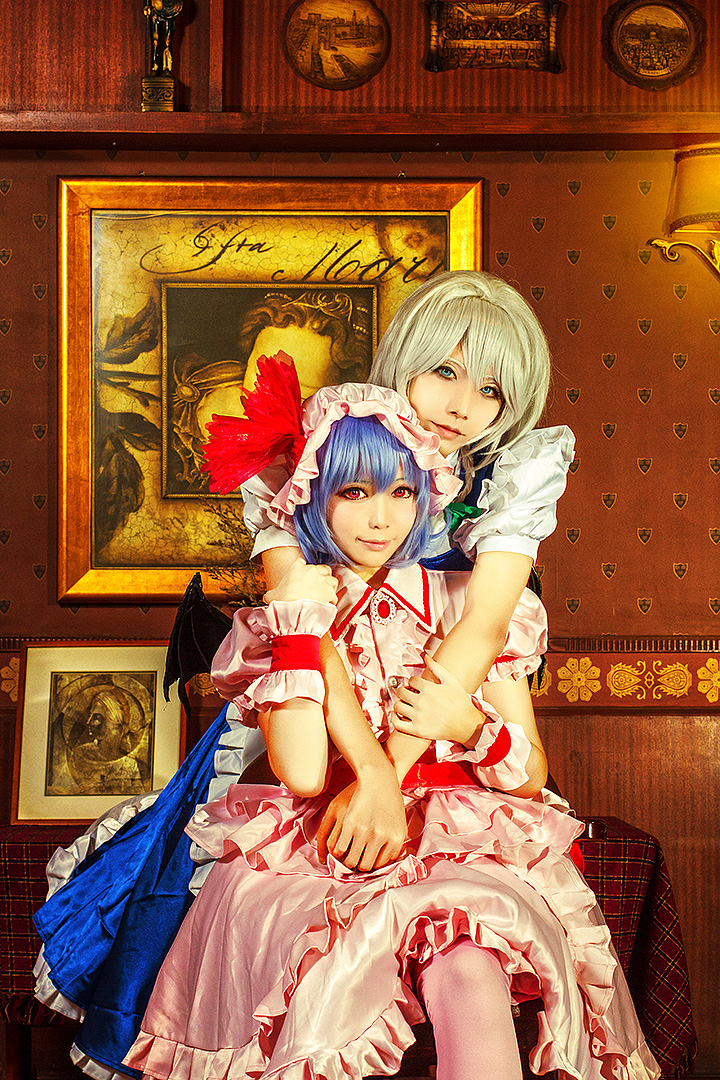 vampire princess and her maid by Godling-Studio