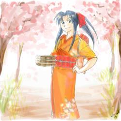 Spring Fragrance by Mizutori