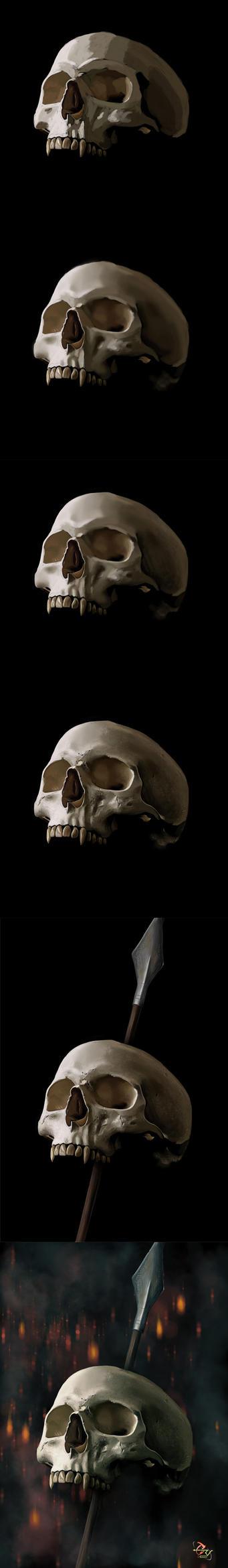Vampire hunter WIP by T-ry