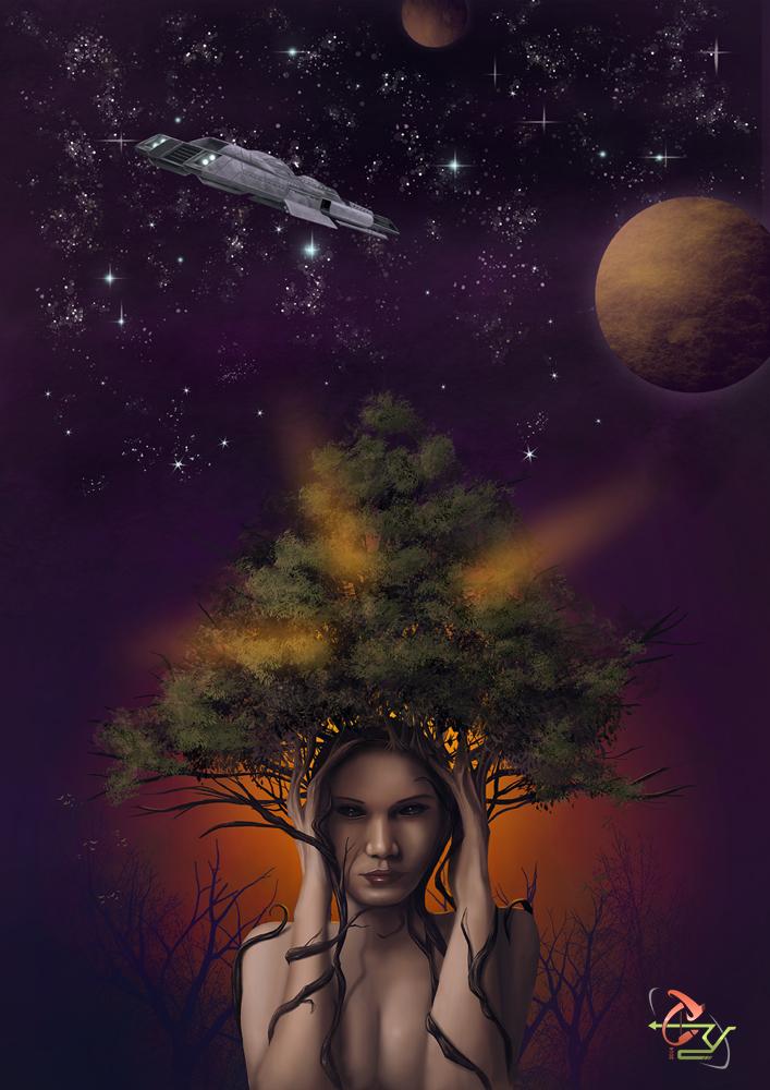 Coverbook Le chant de l'arbre mere by T-ry