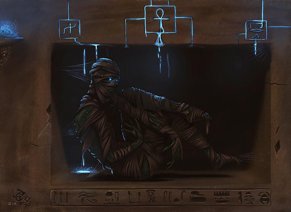 Awakening of the mummy by T-ry