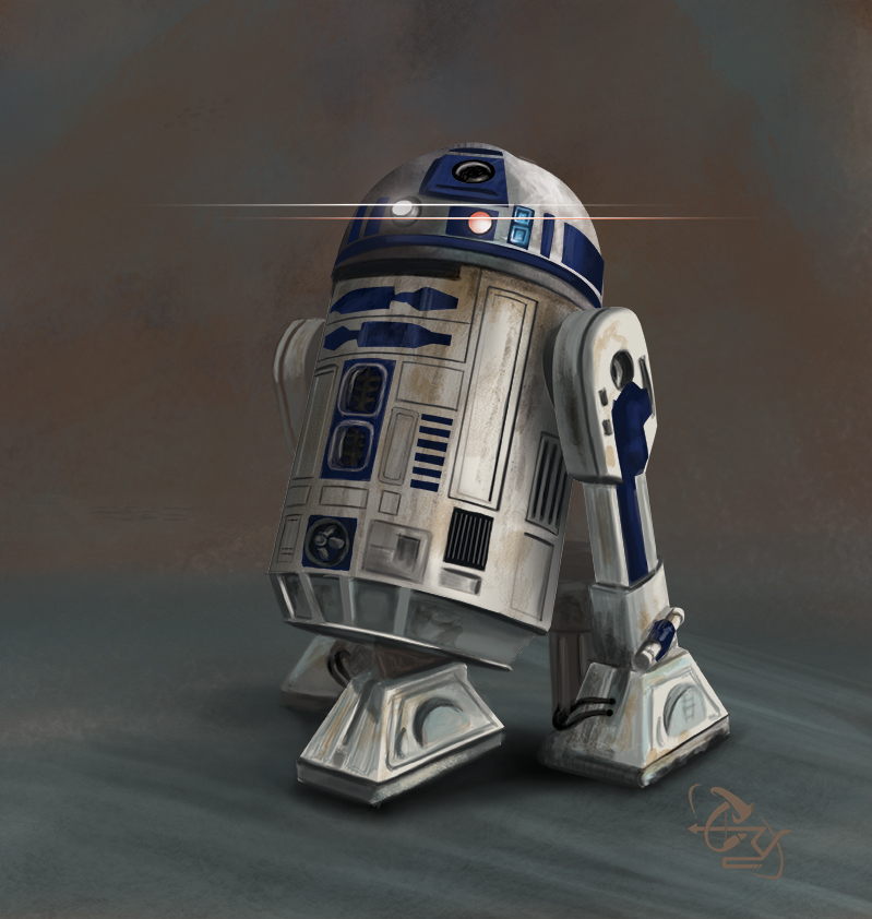 R2D2 by T-ry