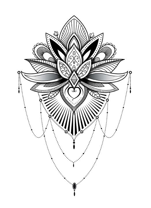 Tatoo Design by T-ry