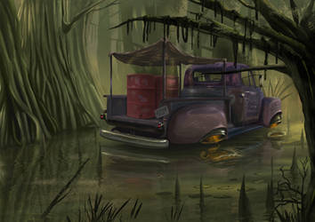 Inside the bayou by T-ry