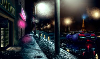 Neo Paris by T-ry