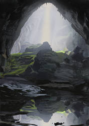 Cave study by T-ry