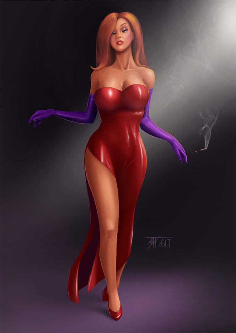 Jessica Rabbit by T-ry