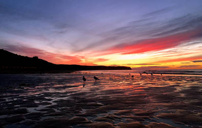 Red Sky at Night by Lisa-Downing