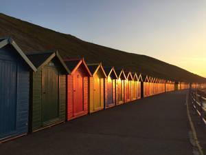 Row of Huts