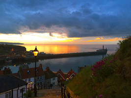 Sunset from the 199 steps
