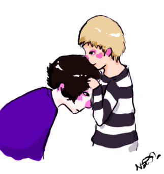 Your hair smells nice, Sherlock. by RETaRDVEiNS