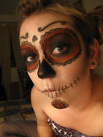 sugar skull by trubldlilchldrn