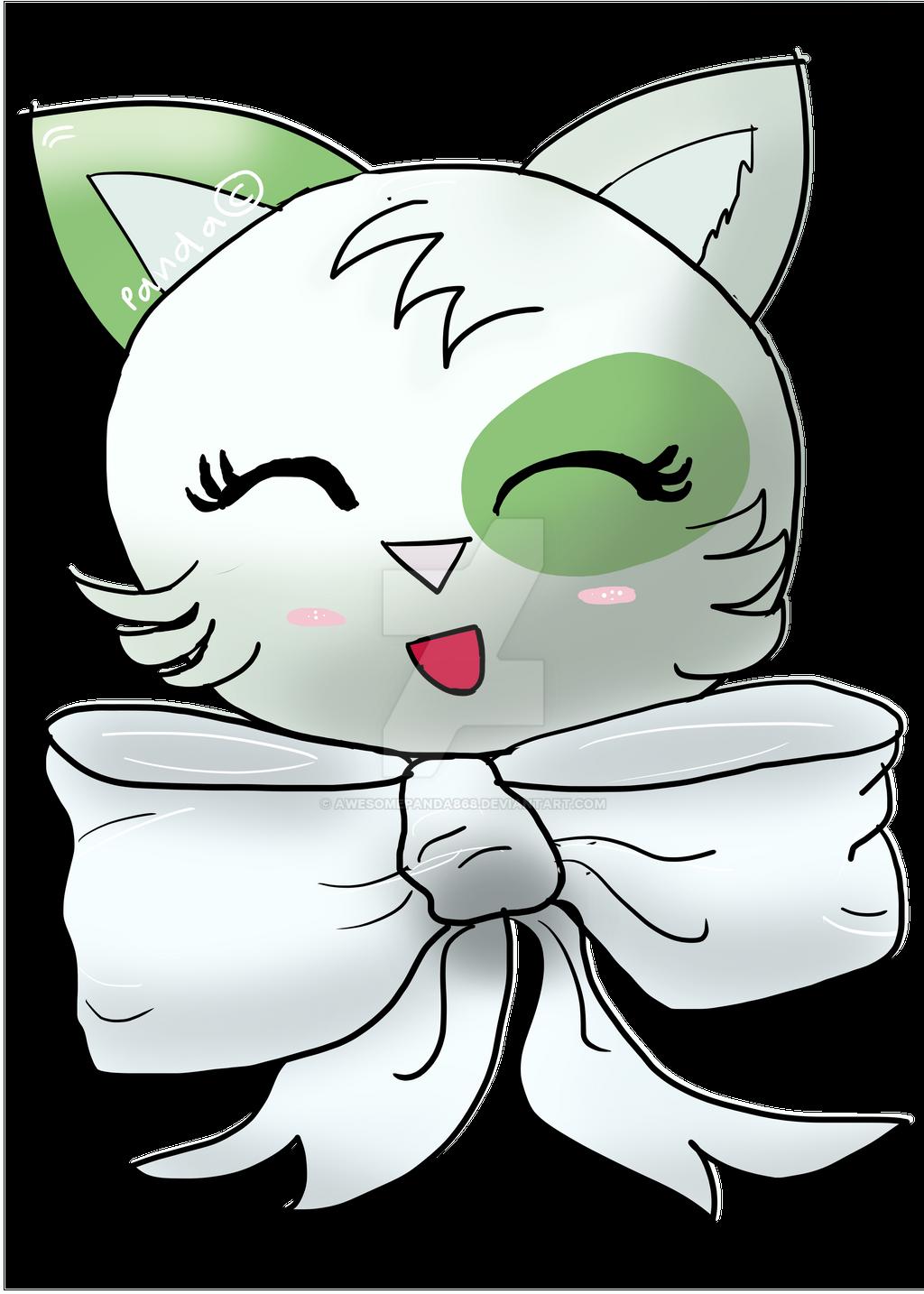 Kitty w/ Bow