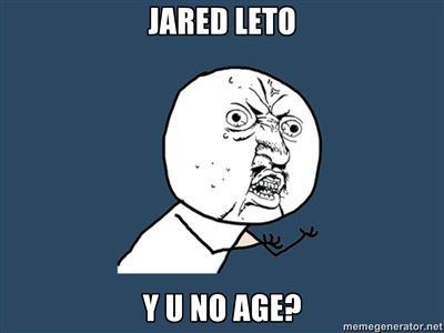 Jared Leto Meme by ThatFreakyWerido