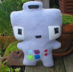 Anxious Robot Plushie