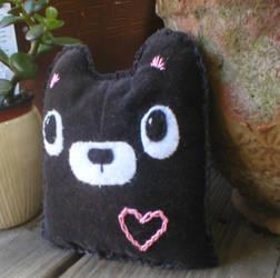 Black Velvet Bear-y Cute