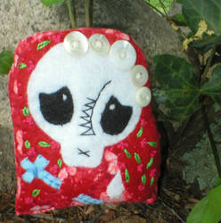 Tiny Day of the Dead Doll