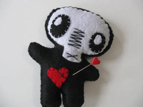 skull headed hoodoo
