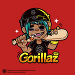 gorillaz-2D