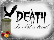 Death is not cool OR a trend. by Cyanideinmyveins