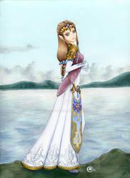Princess Zelda by TalisX