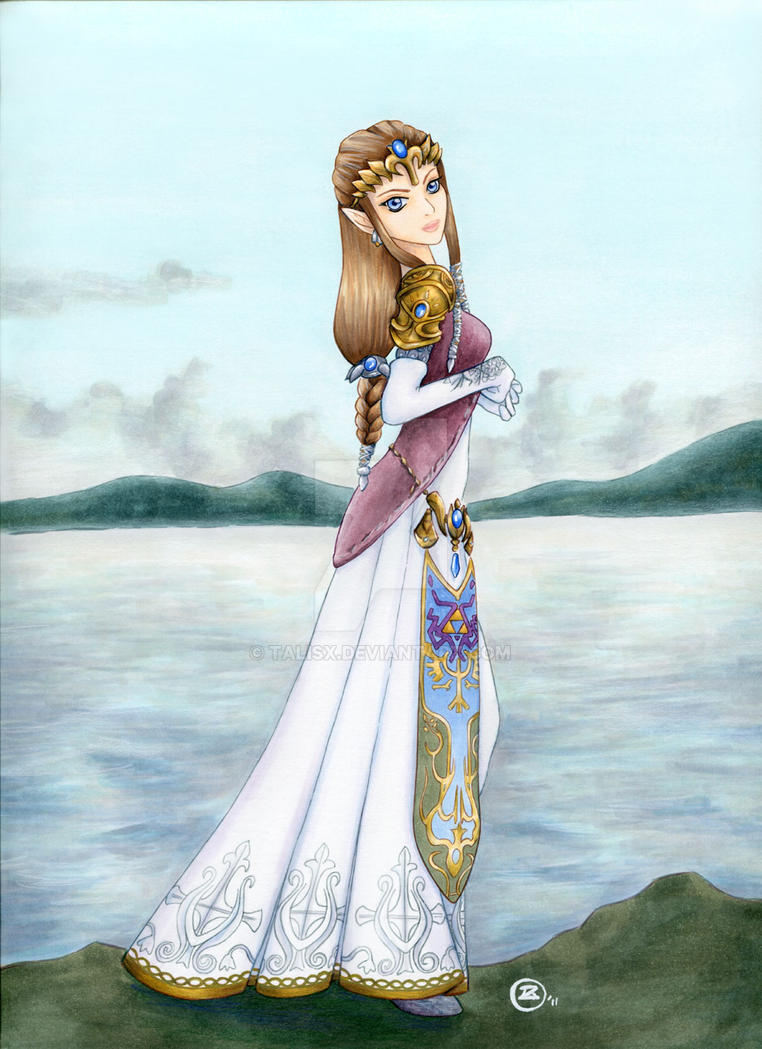 Princess Zelda by TalisX