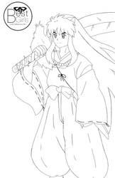 Inuyasha Line Art Commission