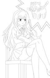 Taiga Commission Line Art