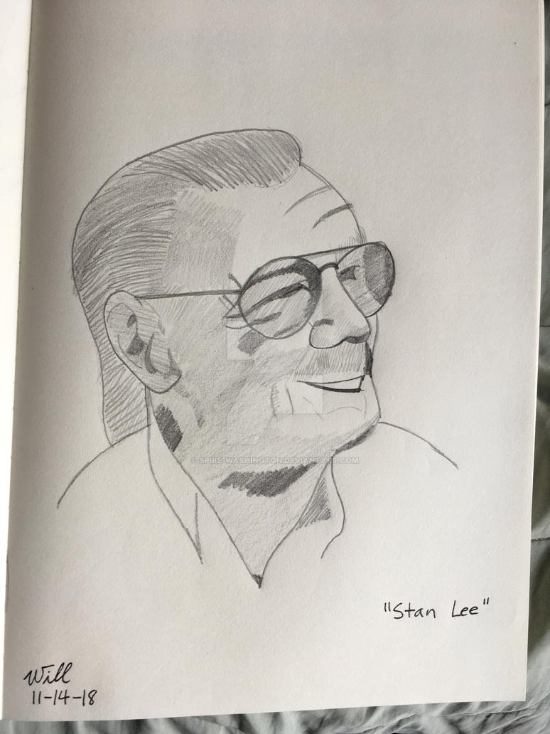 Stan Lee Tribute by Torrin-McFinn77