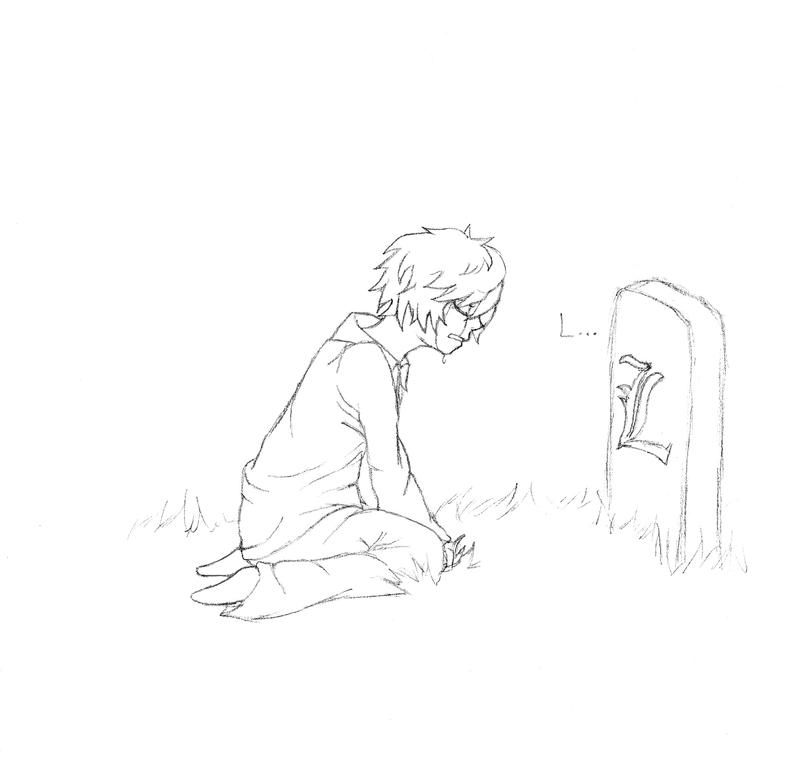DN- Near is sad... SPOILER by gaaras-cookie